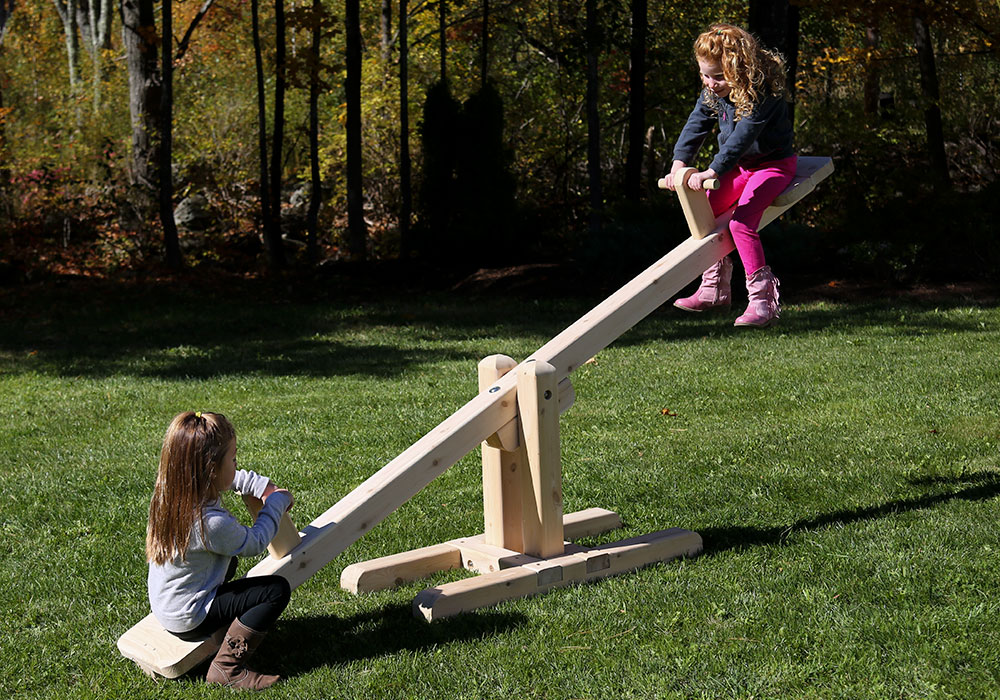 Outdoor Wooden Playground
