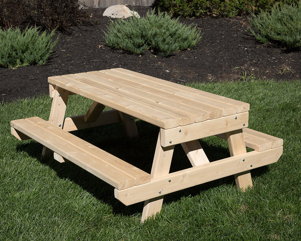 Childrenu0027s Cedar Picnic Table.