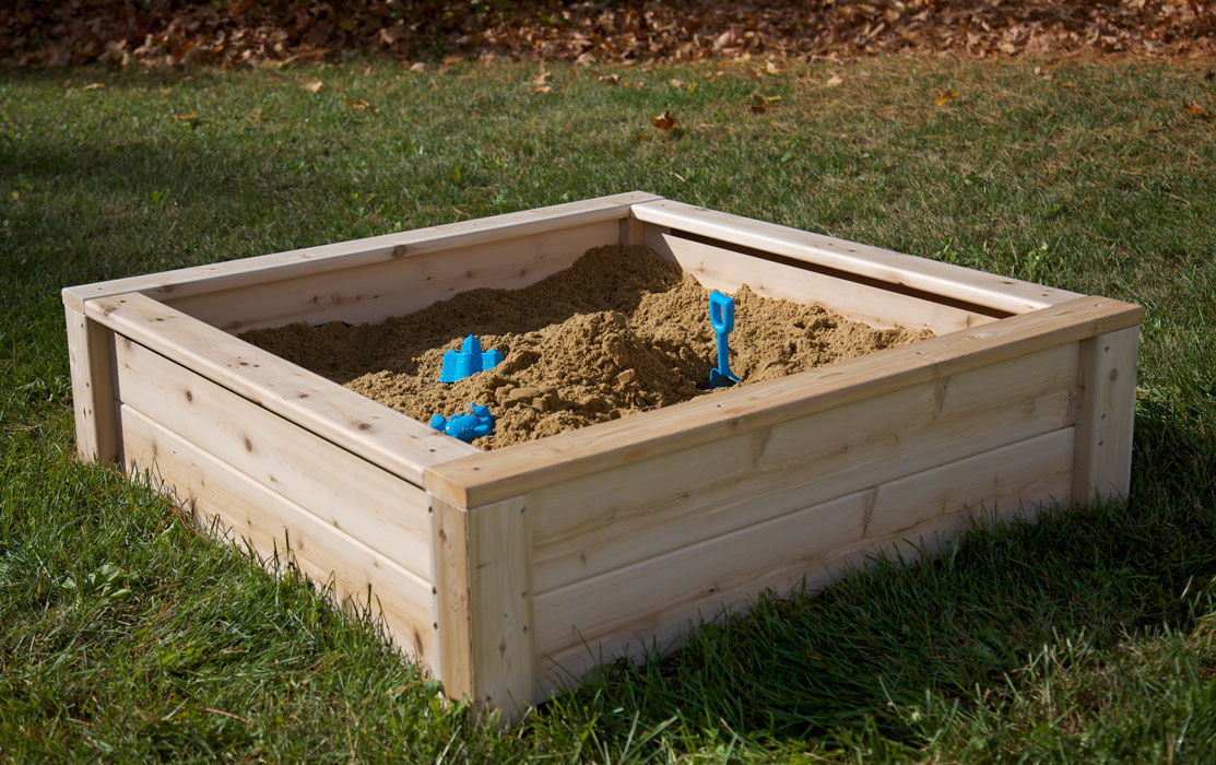 Cedar Garden Box or Sandbox Backyard Activities