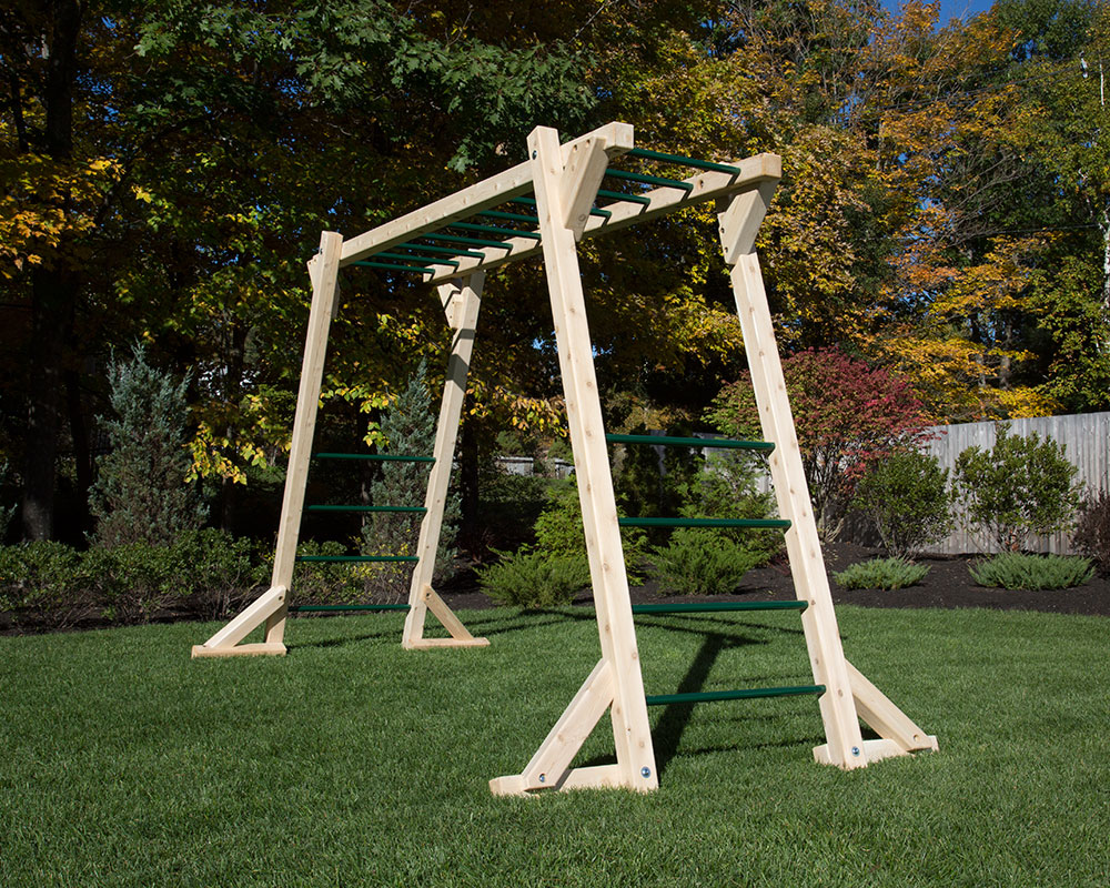 Stand Alone Monkey Bars For Backyard free standing monkey bars