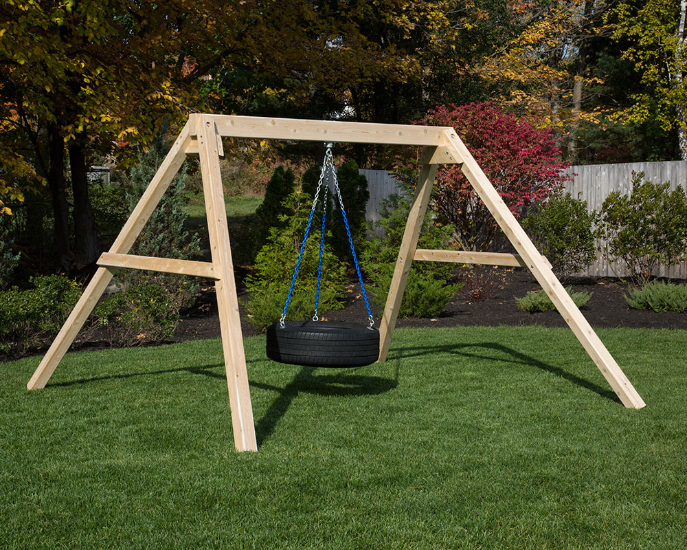 free standing tire swing