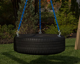360 degree tire swing.