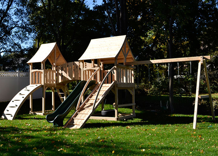 Triumph Play Systems Majestic Double play set in Winchester, MA.
