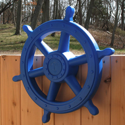 playset or swing set plastic play ships wheel