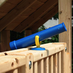 Playset or swing set plastic play telescope.
