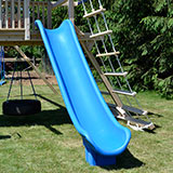 12 foot long scoop slide for wooden swing sets or playsets..