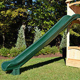 14 foot long scoop slide for wooden swing sets or playsets.
