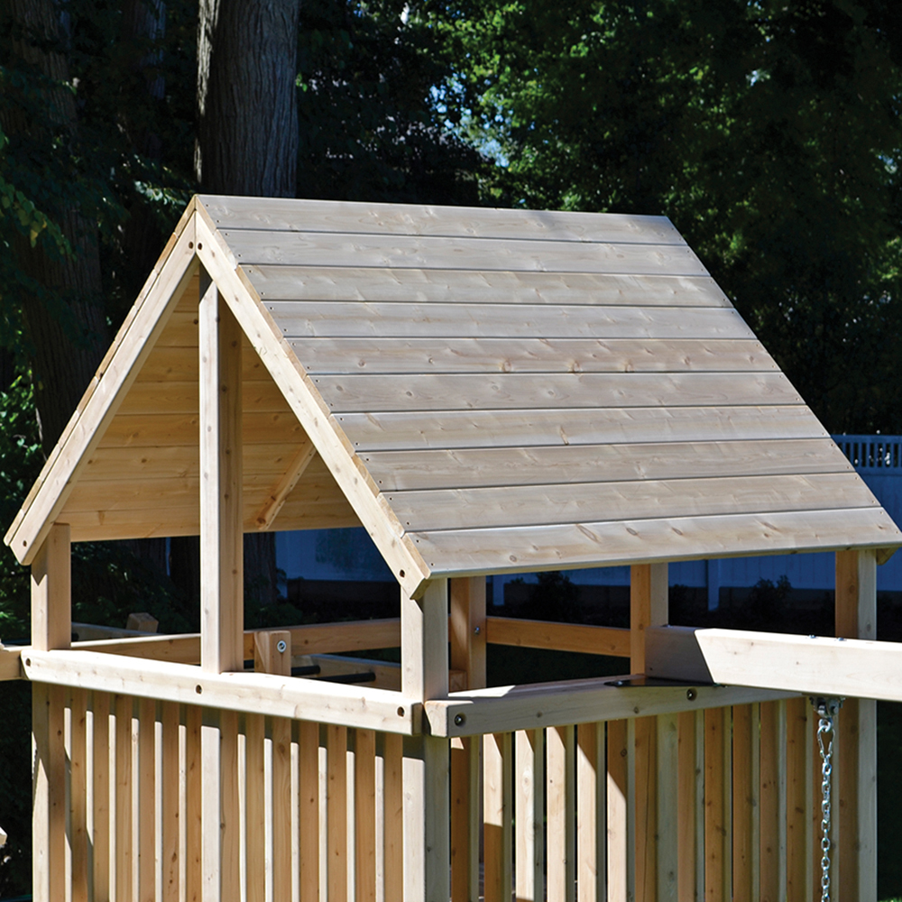 Classic Wood Roof & Play Set Options Wooden Add-Ons - Triumph Play Systems memphite.com