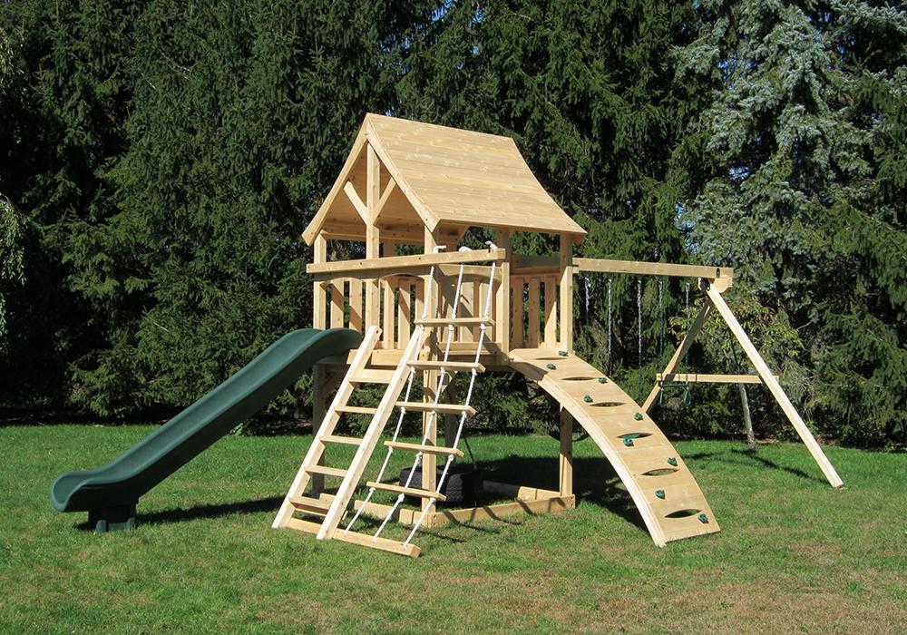Cedar Swing Sets The Kelton Climber Play Set